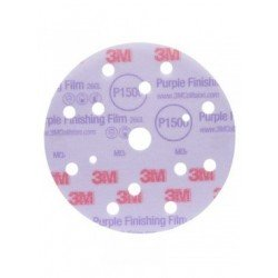 3M P1500 Film Disc 260L, 15 Hole, 150 mm, Qty of 50 - by Grove