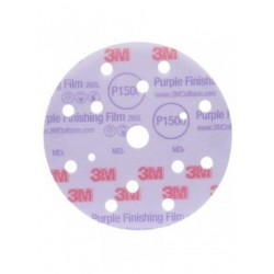 3M P1000 Film Disc 260L, 15 Hole, 150 mm, Qty of 50 - by Grove