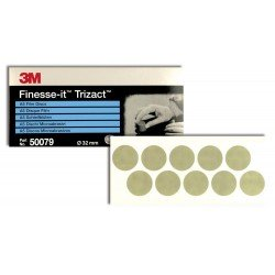 3M P3000 32mm Finesse-it Fine Finishing Disc, Qty of 100