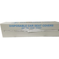 Boxed roll of 100 Polythene Seat Covers