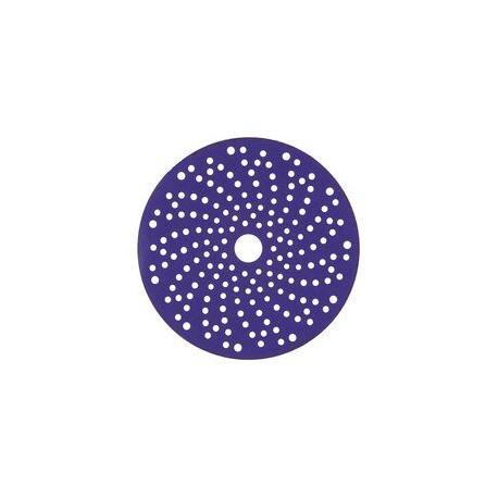 3M P240+ Purple Hookit Discs, 150mm, Multi Hole, Pack of 50 - by Grove