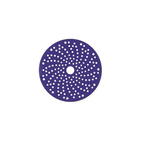 3M P320+ Purple Hookit Discs, 150mm, Multi Hole, Pack of 50 - by Grove