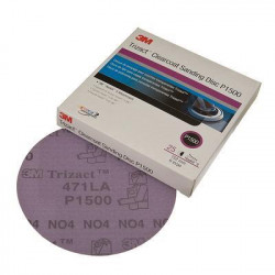 3M P1500 150mm Trizact Clearcoat Sanding Disc, NH, Qty 25 - by Grove