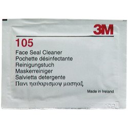 3M Face Seal Cleaner Wipes, Qty of 40 - by Grove