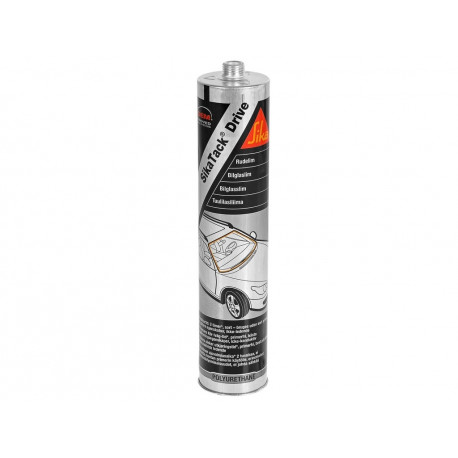 Sikatack Drive Windscreen Adhesive  C600 Black 300ml cartridge - by Grove
