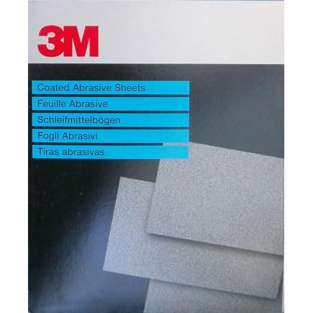 3M  P100 Fre-Cut Abrasive Sheet 618, 230 x 280mm, Qty of 50 - by Grove
