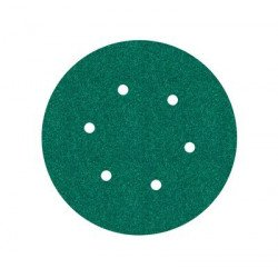 3M P80 150mm Hookit Disc 245, 6 Hole, Qty of 50 - by Grove