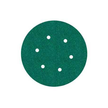 3M P40 150mm Hookit Disc 245, 6 Hole, Qty of 50 - by Grove