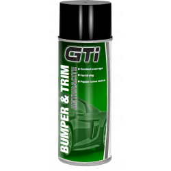 GTi Dark Grey Bumper & Trim Aerosol 400ml