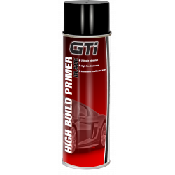 GTi Black High Build Primer aerosol 500ml - by Grove