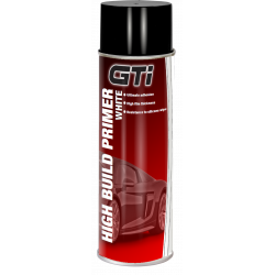 GTi White High Build Primer aerosol 500ml - by Grove
