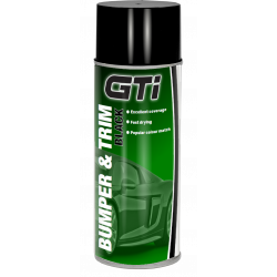 GTi Black Bumper & Trim Aerosol 400ml