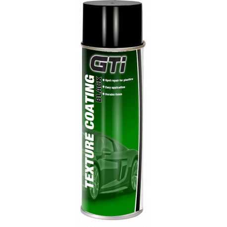 GTi Black Texture Coating aerosol 500ml