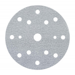 3M P320 Hookit E-Coat Disc 337U, 150 mm, 15 Hole, Qty of 25