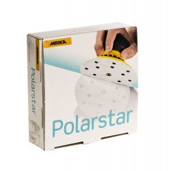 Mirka P1000 150mm Polarstar Discs 15 Hole (Pack of 50)