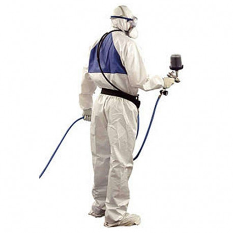 3M X-Large Disposable Paintshop Coverall, White, Type 5/6 - by Grove