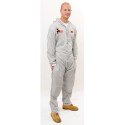 3M  Medium Reusable Paintshop Coverall, Grey - by Grove
