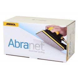 Mirka P120 115 x 230mm Abranet Strips (Pack of 50) by Grove