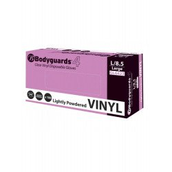 Lightly Powdered Small Vinyl Gloves, Box of 100 - by Grove