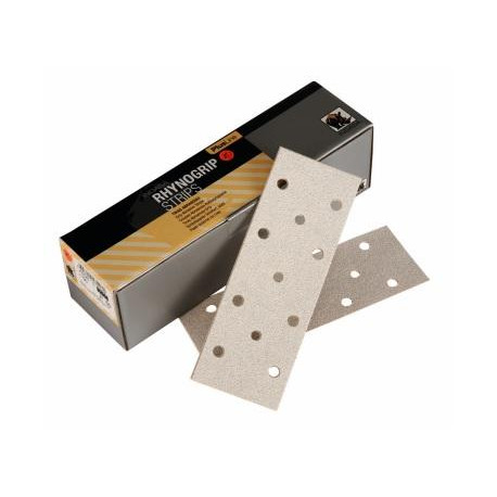 Indasa P320 70 x 198mm Plusline 11 Hole Strips, Pack of 50 - by Grove