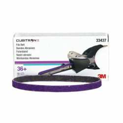 3M P36+ 10 x 330mm Cubitron II File Belt 786F, Qty of 10 - by Grove