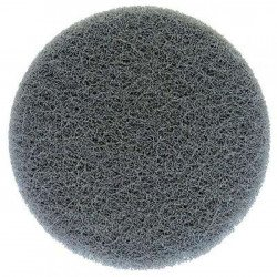 3M Ultrafine 150mm ScotchBrite Disc, Grey, Pack of 10 - by Grove