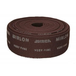 Mirka Very Fine (360g) 115mm x 10M Mirlon Red Finishing Roll - by Grove