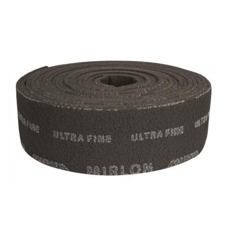 Mirka Ultra Fine (1500g) 100mm x 10M Mirlon Grey Finishing Roll - by Grove