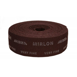 Mirka Very Fine (360g) 100mm x 10M Mirlon Red Finishing Roll - by Grove
