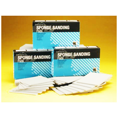 Indasa Fine 115 x 140mm Sanding Sponge, Pack of 20 - by Grove