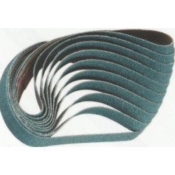 Indasa P40 20 x 520mm Rhyno Abrasive Cloth Belts, Pack of 10 - by Grove