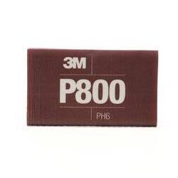 3M P800 139 x 172mm Hookit Flexible Hand Sheet 270j, Pack of 25