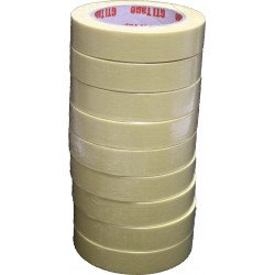 9 rolls of GTI High Quality Masking Tape 24mm x 50m