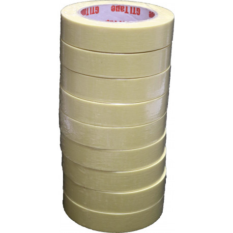 9 rolls of GTI High Quality Masking Tape 24mm x 50m