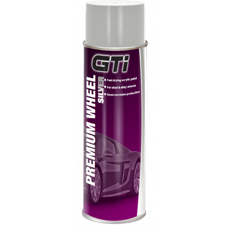 GTi Premium Wheel Silver Aerosol 500ml - by Grove