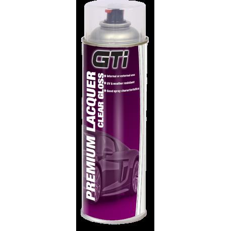 GTi Premium Super Gloss Lacquer (Clearcoat) aerosol 500ml