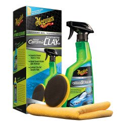 Meguiar's G200200EU Hybrid Ceramic Synthetic Clay Kit - by Grove