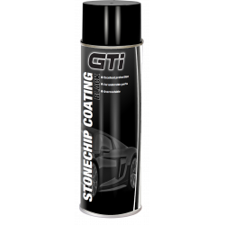 GTi Black Stonechip Aerosol Coating 500ml