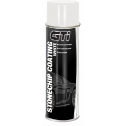 GTi White Stonechip Aerosol Coating 500ml - by Grove