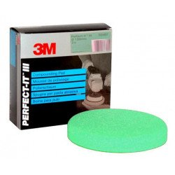 3M Perfect-It Fast Cut Foam Compounding Pad, Green, 150 mm