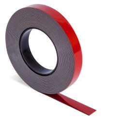 JTape 9mm x 10m Grey Acrylic Double Sided Tape - by Grove