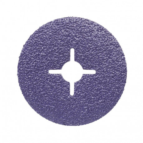 3M P60+ 115mm x 22mm Cubitron II Fibre Disc,  Slotted, Qty of 5 by Grove