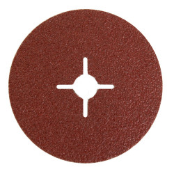 Mirka P60 100 x 16mm Fibre Disc Qty of 25 - by Grove