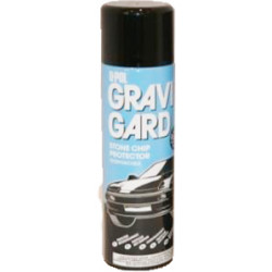 Upol Black Aerosol Stonechip 500ml - by Grove