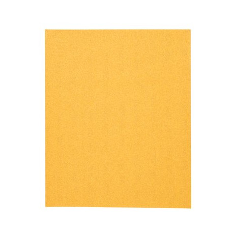 3M P120 Abrasive Sheet, 230 mm x 280 mm, No Hole, Qty of 50 - by Grove