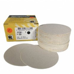 Indasa P80 75mm Plusline Discs, No Hole,  Pack of 50 - by Grove