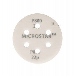 Mirka P800 77mm Microstar Disc 6 Hole, Pack of 50 - by Grove