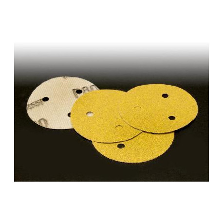 3M P120 75mm Hookit Disc 255P, 3 Hole, Qty of 50 - by Grove