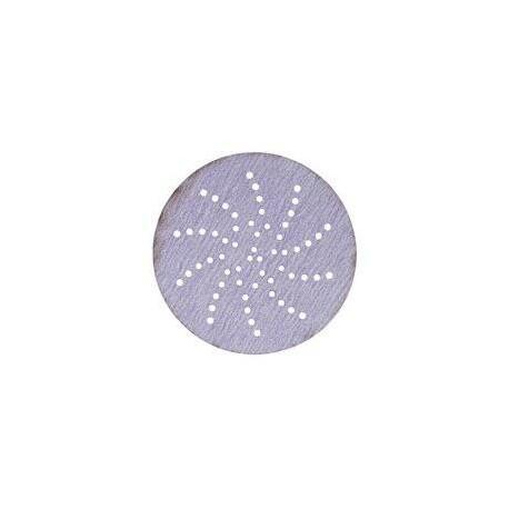 3M P240 75mm Hookit Purple Abrasive Disc 334U, Multi Hole, Qty of 50