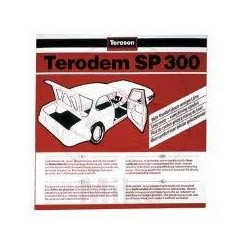Terodem (Teroson) SP300 Sound Deadening Pads 50cm x 50cm,  Pack of 4